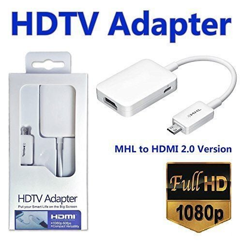 Micro USB MHL 2.0 to HDMI 1080P HDTV Cable Adapter For Samsung Galaxy S3 S4 S5 Note2 Tab3