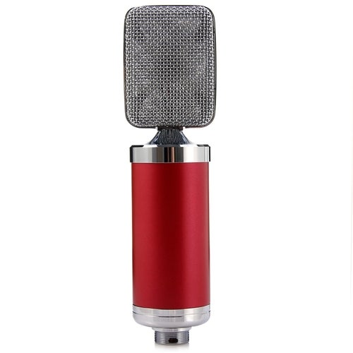 Unidirectional Microphone Unidirectional Hyper-cardiode With Shock Mount Support Clip To Studio Broadcast Radio Sound Voice Off Home Recording Gaming Video Chat