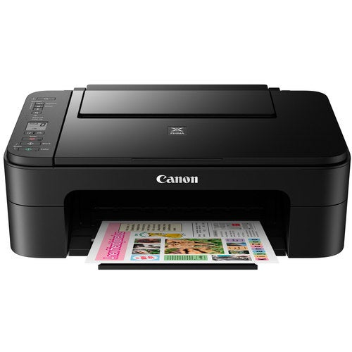 Canon PIXMA TS3120 Wireless All-in-One Compact Black Printer w/ USB Cable & PaintProX9