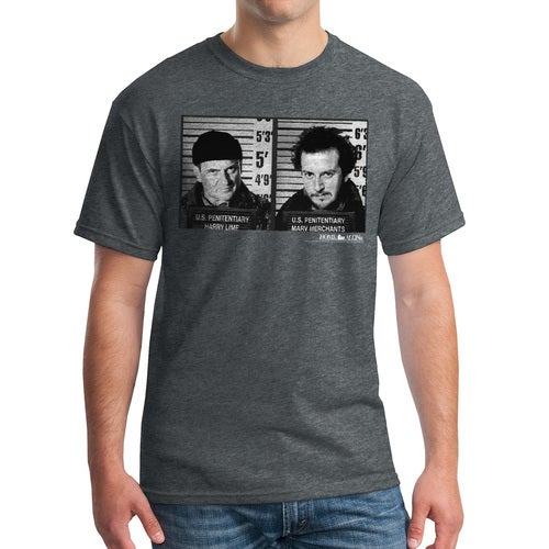 Home Alone US Penitentiary Men's Dark Heather T-shirt