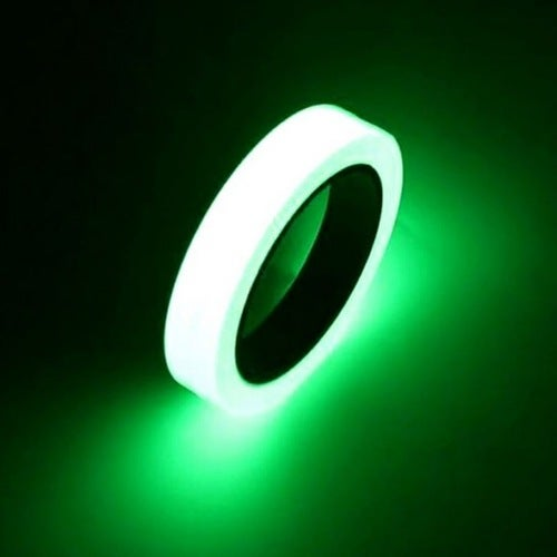 10M 10mm Luminous Tape Night Vision Glow In Dark Self-adhesive Warning Tape Safety Security Home Decoration Tapes