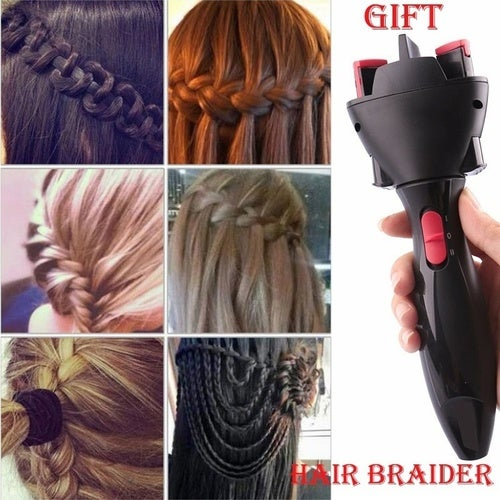 Electric Automatic Smart Quick Easy Diy Braid Magic Tophatter