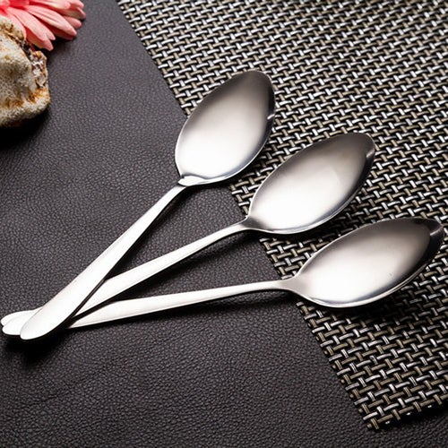 3pcs High Quality Stainless Steel Spoons Flatware