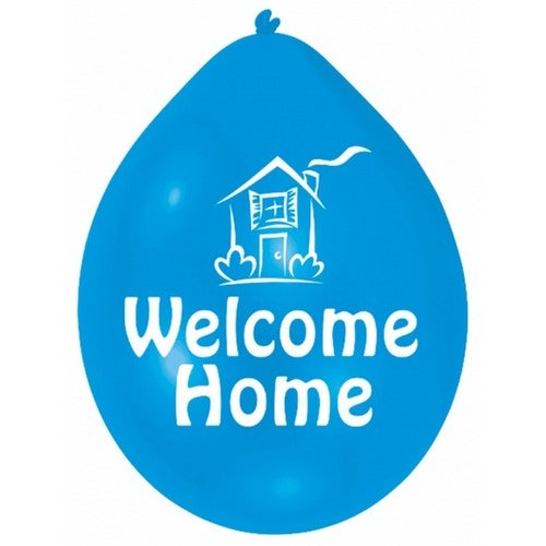Minipax Welcome Home Party Balloons (Pack Of 10)