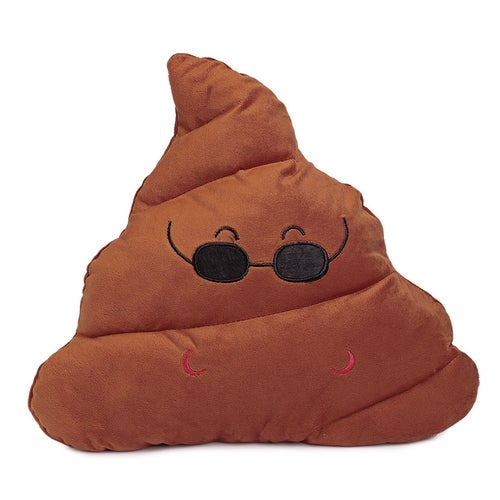 Cute Poop Expression Cool Emoticon Pillow Stuffed Plush Toy Home Decoration Christmas Gift