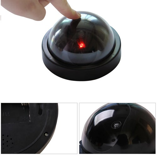 1 Pcs Wireless Home Security Fake Camera Dummy Simulated video Surveillance indoor outdoor Surveillance IR Led Dome camera