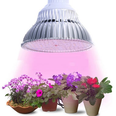 8W / 18W / 28W LED E27 Plant Grow Light Veg Flower Indoor Hydroponic Plant Full