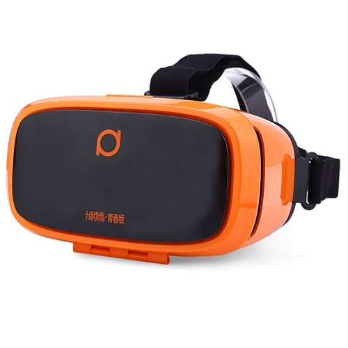Deepoon Kankan V2Y 68 Degree Wide Angel 3D VR Headset Movie Game Virtual Reality for 5 - 6 Inch Smartphone(3 Color)