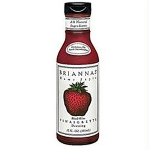 Briannas B25968 Briannas Home Style Blush Wine Vinaigrette Salad Dressing -6x12oz