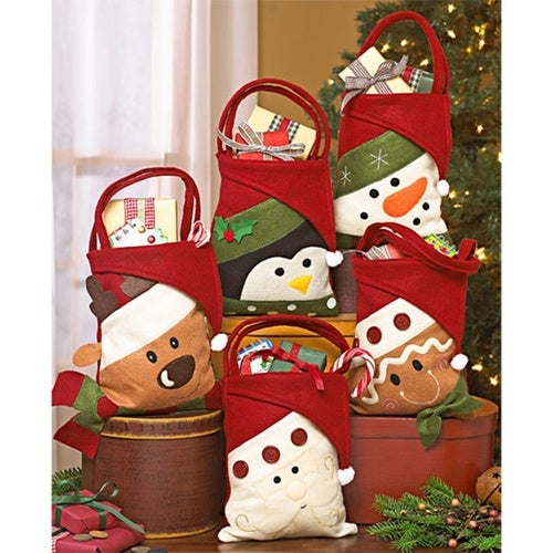 Creative Five Style Christmas Gift Bag Candy Holders...  d0d680af9e44f