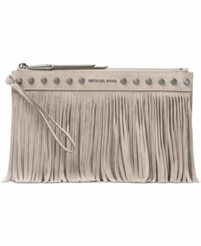 NWT Michael Kors Billy  XL Zip Clutch $138