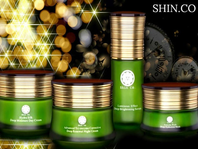 Shin Co. Full Size Set ( Night + Day Cream, Serum, Mask )