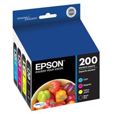 Epson America - T200120-BCS - Ultra Blk and Color Combo Pk