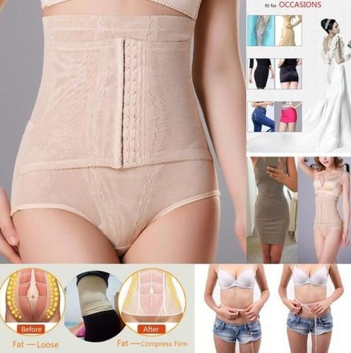 0a8240fa797 Women Fashion High Waist Underwear Tummy Control Sex...