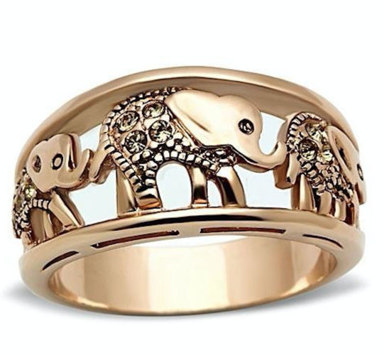 Lucky Elephant Ring #933