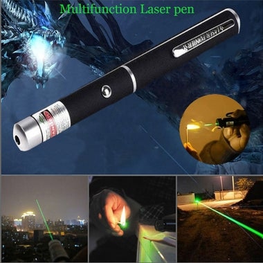 Powerful Green  Laser Pointer Pen Beam Light 5mW Professional Military High Powe