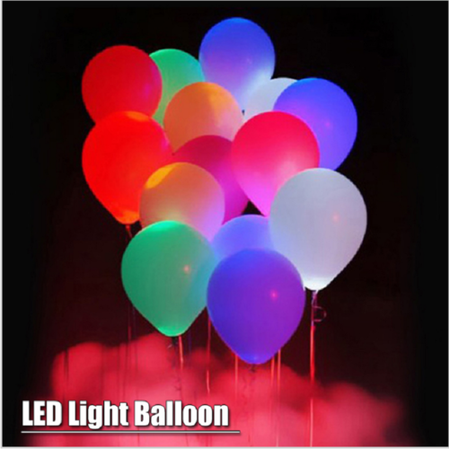 LED Balloons Light Up Balloons Flashing Light  Mixed Color for Christmas/Birthday/Wedding Party