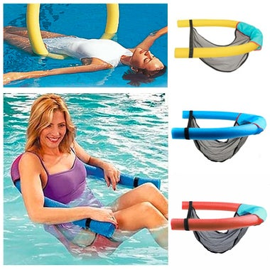 Swimming Learners Super Buoyant Foam Stick Floating Chair Rafts Swimming Pool Se