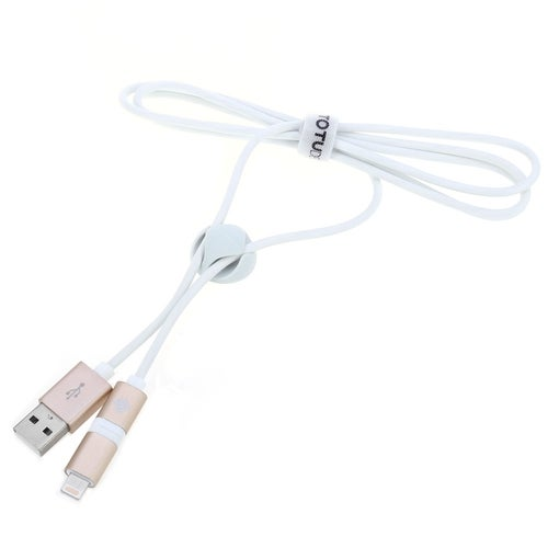 TOTU Glory Series USB Cable 2 In 1 1.2M Dual Connector For Apple