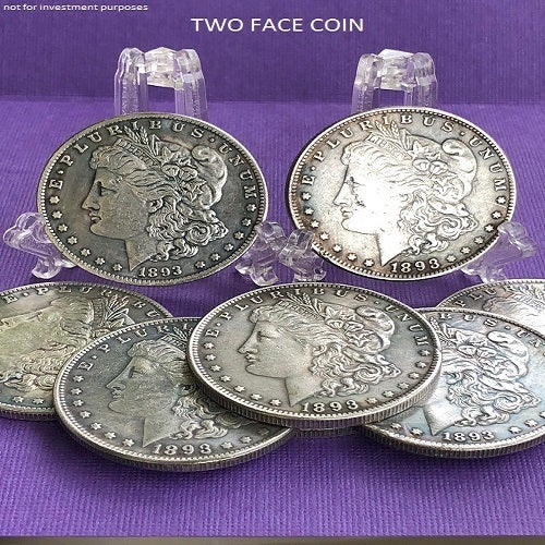 NOVELTY COIN REAL FINE QUALITY TWO FACE MORGAN*** U