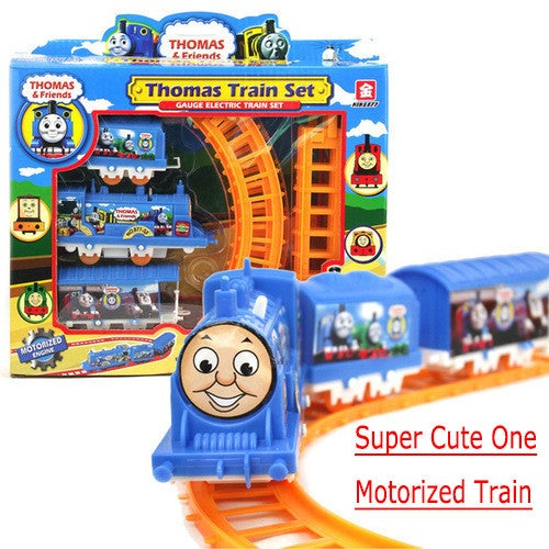 New Year Gift! Cute Toy for Kids Train Track Nice Gift