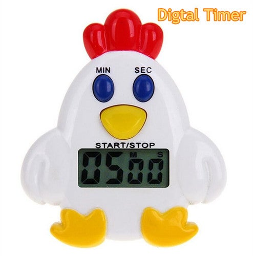 Electronic Chicken Shape Timer