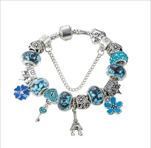Luxury High End Silver Plated Genuine Australian Crystal Beads