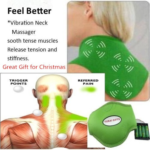 Great Gift for Christmas Electric Therapy Cervical Neck Massager Belt