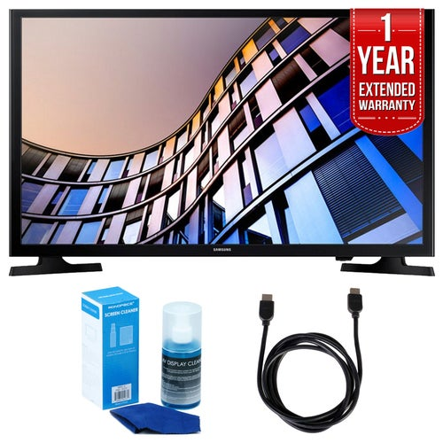 Samsung 23.6 720p Smart LED TV (2017 Model) + Extended Warranty Bundle