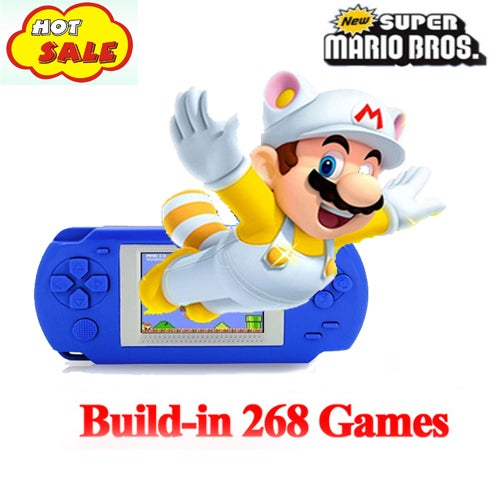 2018 Game Console Portable Video Game Handheld Player Built-in 268 Games Model 920