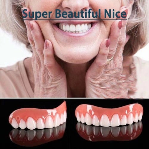 New So Cool Perfect Smile Cosmetic Teeth Fake Tooth Cover Dental False Natural Snap Perfect