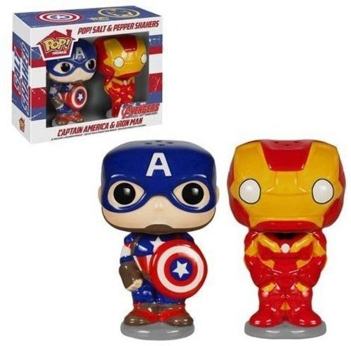 Marvel Avengers 2 Salt N' Pepper Shakers S1