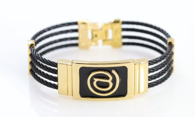 """Unisex gorgeous 8"""" bracelet!!!!  Ultra popular cable wire design. perfect blend of colors. Never fade technology."""
