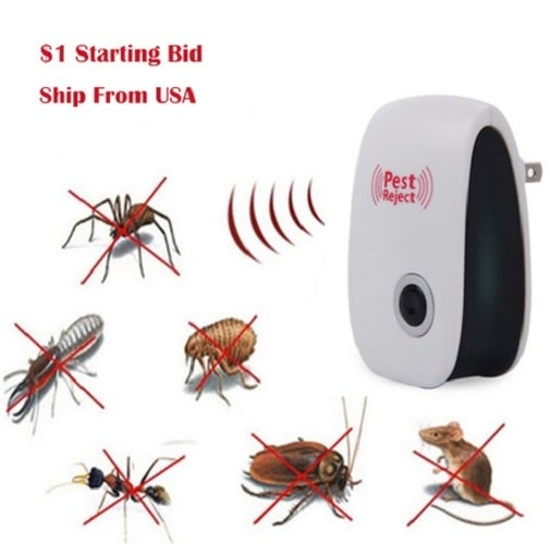 Electronic, Non-toxic and Environment Friendly Device for pest repeller