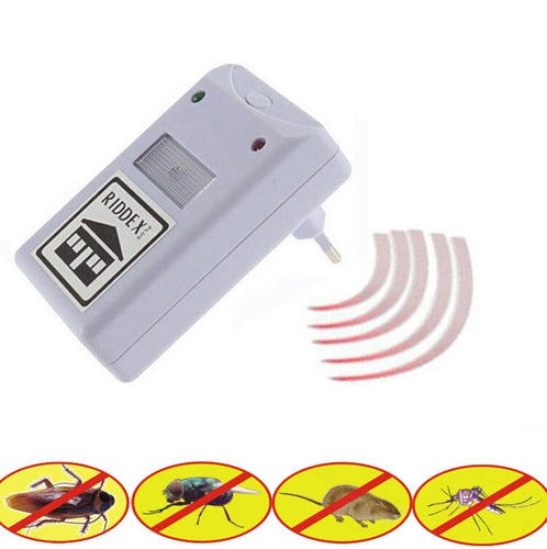 1 pcs  Pest Repelling Aid Electronic Mosquito Dispeller Spiders Expel EU Plug/US Plug