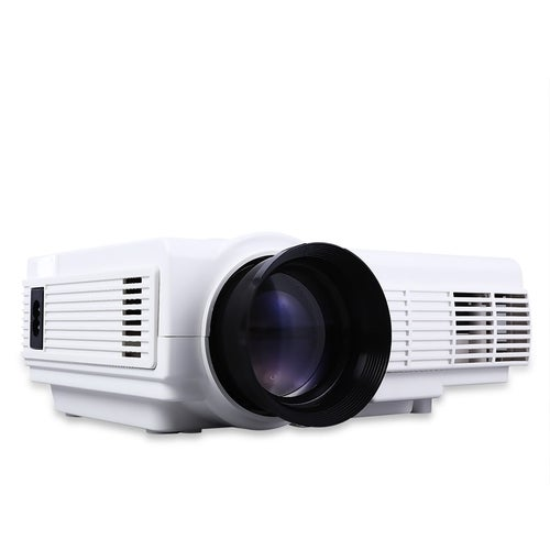 POWERFUL Q5 Quad-core Android 4.4 LCD Projector 800 x 480 Pixels with Miracast WiFi Bluetooth 4.0 1080P