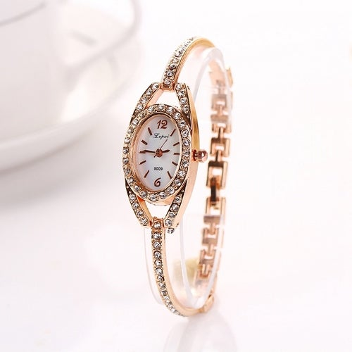 LVPAI Bracelet Watches Women Classic Luxury Ladies Crystal Fashion Casual Dress Business Watch
