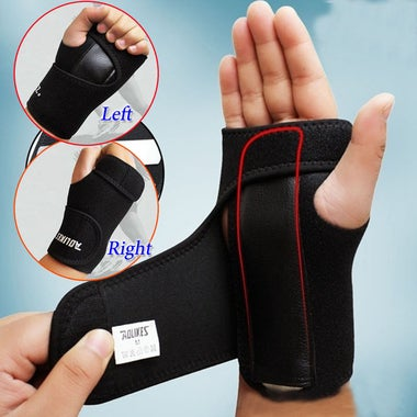 Wrist Adjustable Guard Band Brace Support Wraps Bandage Carpal Tunnel
