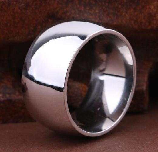 Men's Stainless Steel Anniversary Rings Tail Ring