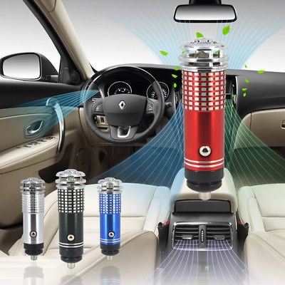 Mini Auto Car Home Fresh Air Ionic Purifier Oxygen Bar Ozone Ionizer Cleaner 2017 NEW ITEM