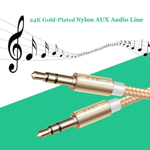 3.5mm Male to Male Aux Cord 1M Auxiliary / Aux Cable for Car / home Stereo Beats Headphonefor iphoneComputerSpeakerMP3 Players