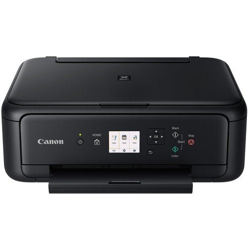 Canon PIXMA TS5120 Wireless All-in-One Compact Black Printer w/ USB Cable & PaintProX9