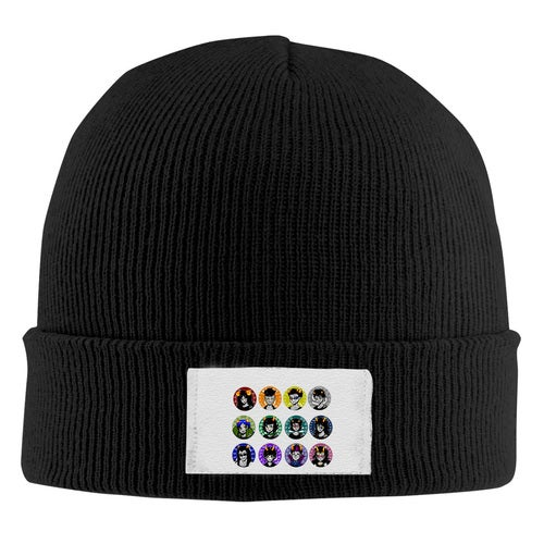 homestuck beta Unisex Adult Print Beanie Caps Adjustable Knitted Hat