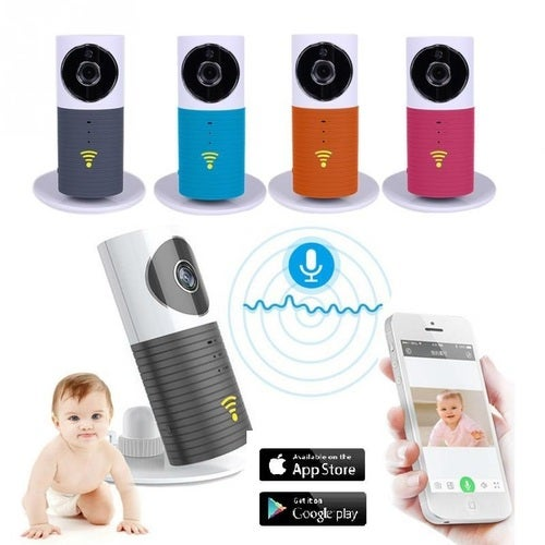 IP Wireless Camera Baby Care Monitor Security WIFI Night Vision Audio Video RedQ