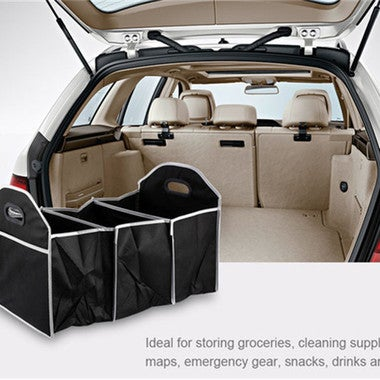 1x Car Storage Box Trunk Insulated Thermal Collapsible Organizer Tough Food Rugg