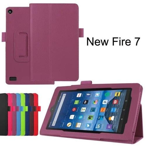 Amazon Kindle Fire 7 Slim Folio Lightweight Smart Case
