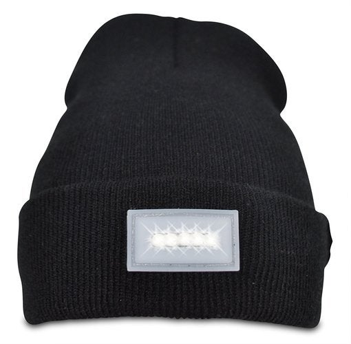 Premium Quality 5-LED Light Beanie Hat - Long Lasting Battery - Unisex - One Size Fits All - Headlamp for Camping, Running, Fishing, Hiking, or Any Outdoor Activities!