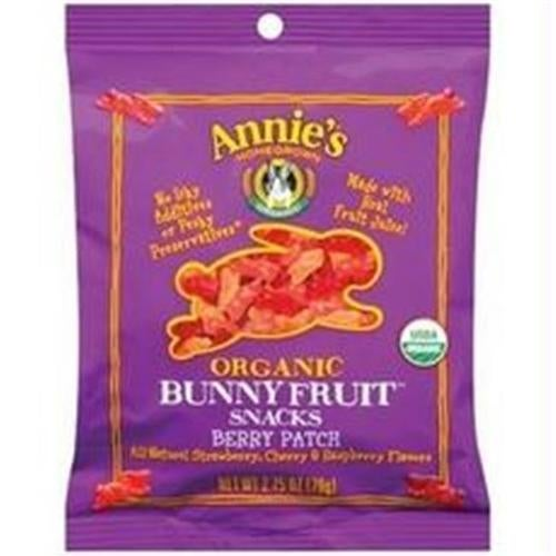 Annies Homegrown B60192 Annies Organic Berry Patch Fruit Snack -9x2.75oz