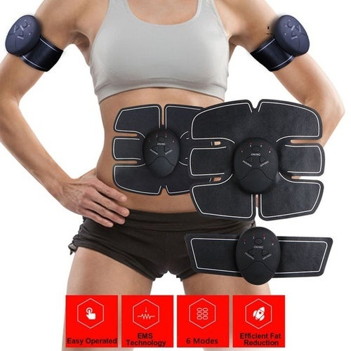 Muscle Training Gear Abs Training Fit Body Exercise Shape Fitness Home Use Kits (Size: as picture show)