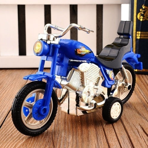 New Plastic Motorcycle Toy Model Hobby Toys Replace Kids Gift Boys & Girls Random (Size: 2)